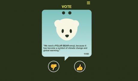 emoji voter giudizio approvazione 2020