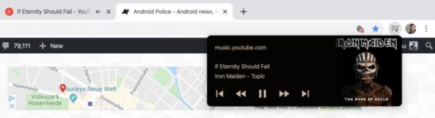 google chrome controlli multimediali contenuti castati