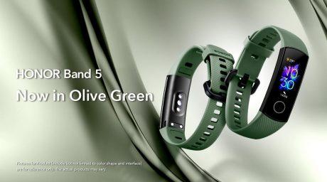 Honor band 5 verde oliva