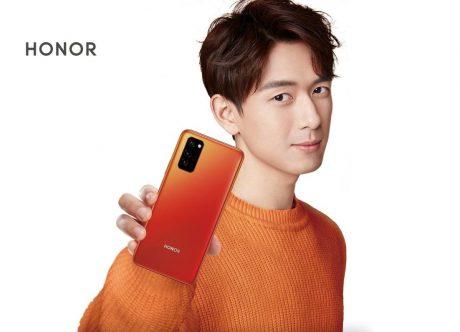 Honor v30 orange 1