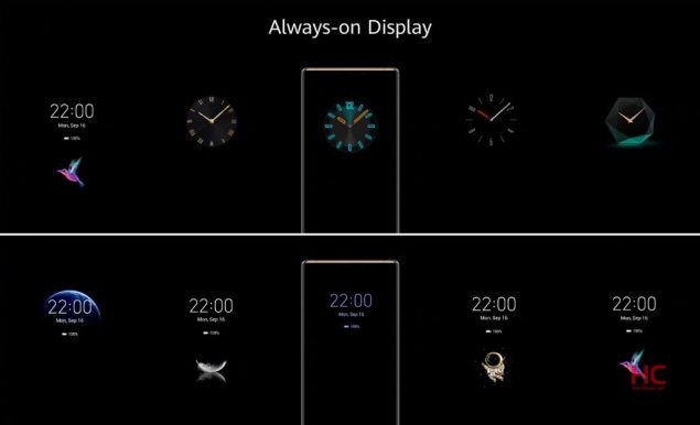 huawei emui 10 always on nuovo design q1 2020