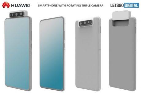 Huawei tripla rotante A