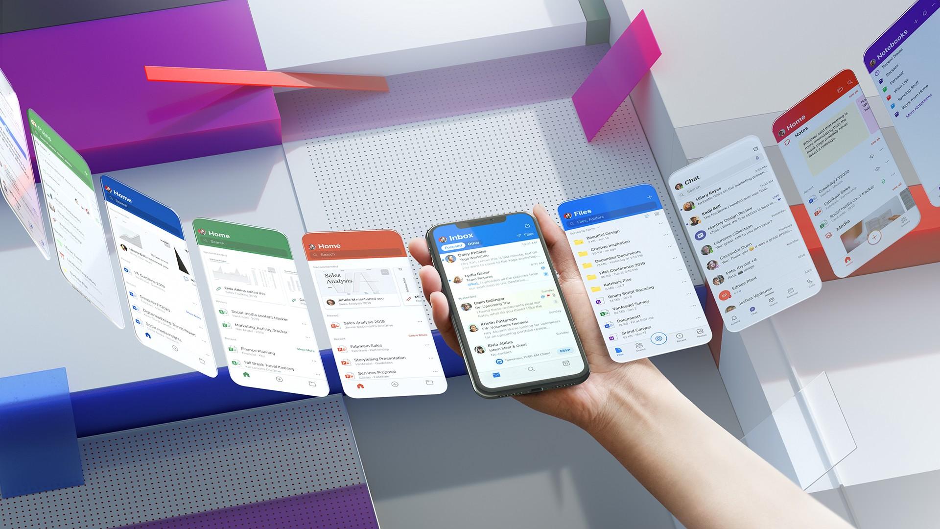 Guardate quanto sono belle le app di Microsoft con il nuovo