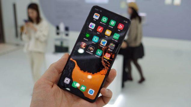 oppo smartphone prototipo senza tasti porte