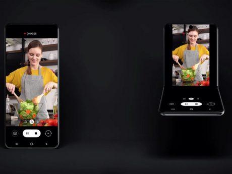 Samsung smartphone pieghevole conchiglia rumor febbraio 2020 feat