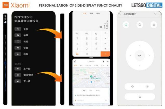 xiaomi smartphone fotocamera sotto il display brevetto