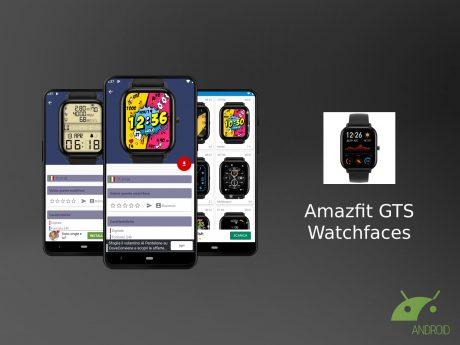 Amazfit GTS Watchfaces