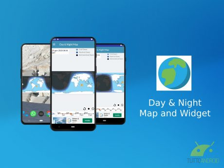 Day Night Map and Widget