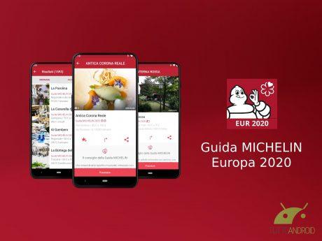 Guida MICHELIN Europa 2020