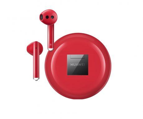Huawei FreeBuds 3 rosse
