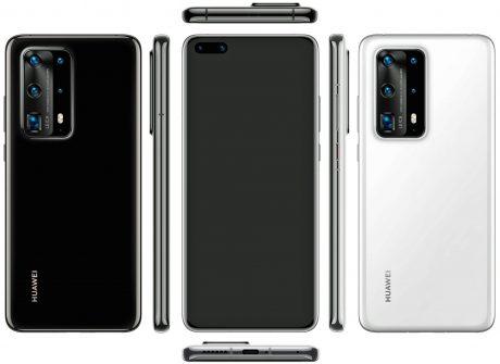 Huawei P40 Pro con cinque fotocamere