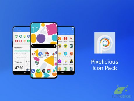Pixelicious icon pack