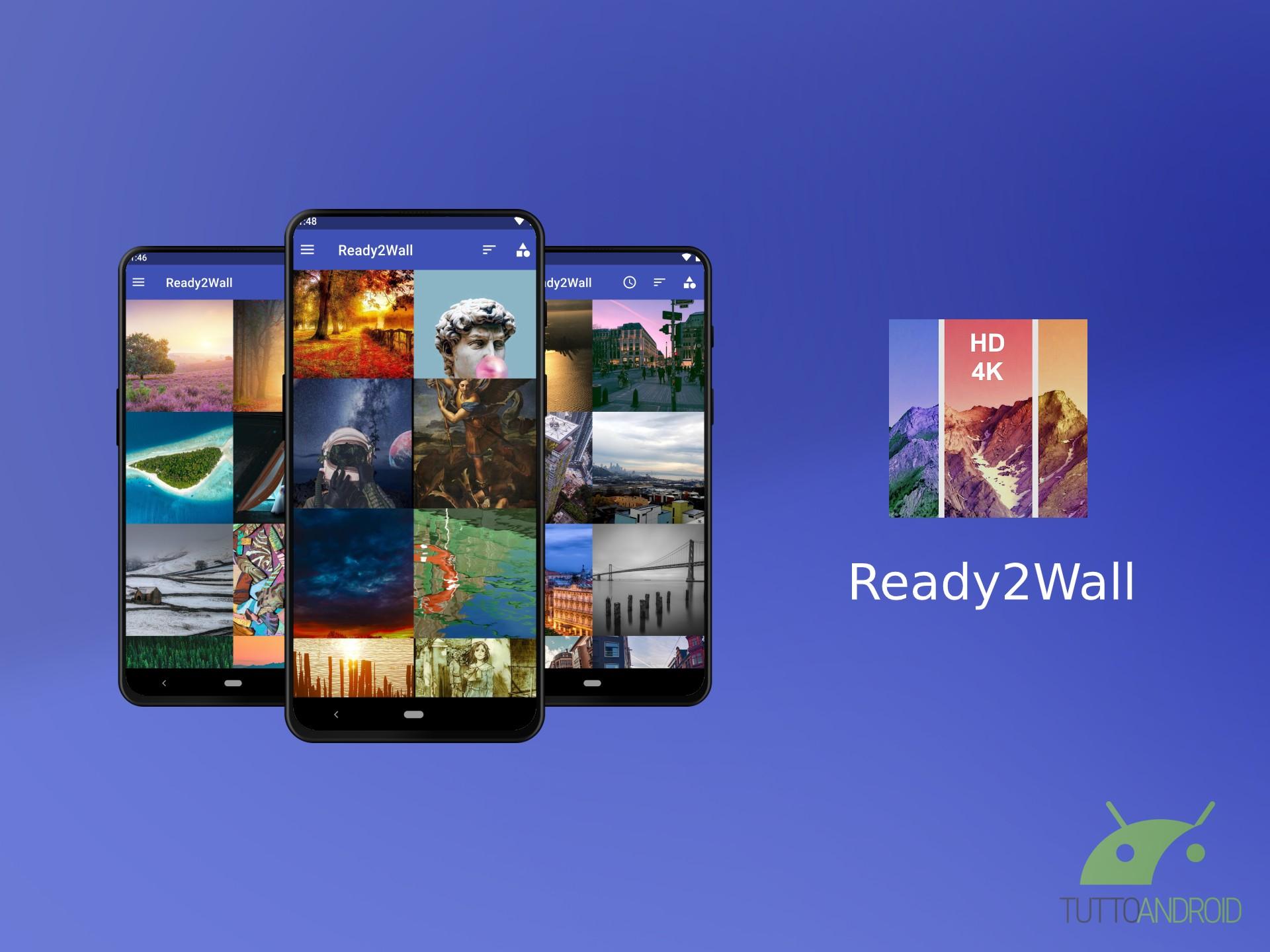 L'app Ready2Wall trova lo sfondo giusto e di qualità per ogn