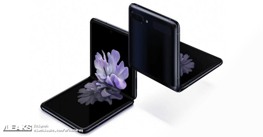 Vi mostriamo le prime immagini render di Galaxy Z Flip, il p