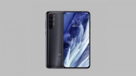 Xiaomi Mi 10 render