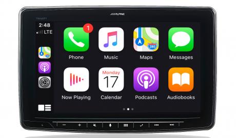 alpine unità auto android auto