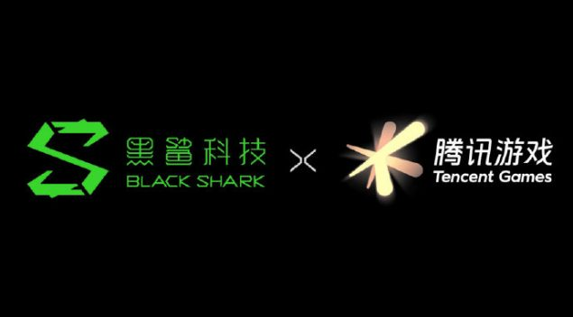 black shark tencent games partnership