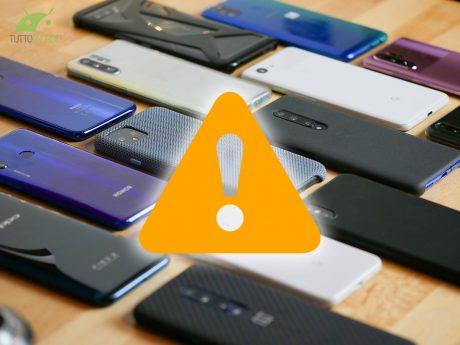 Errori acquisto smartphone