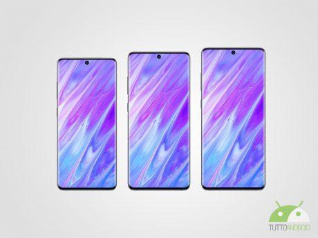 Samsung Galaxy S20 S20+ S20 Ultra