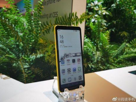 Hisense e ink colori smartphone
