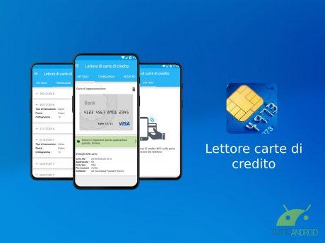 Lettore carte credito