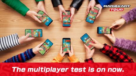 nintendo mario kart tour multiplayer seconda beta