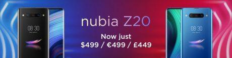 nubia z20 nuovo prezzo