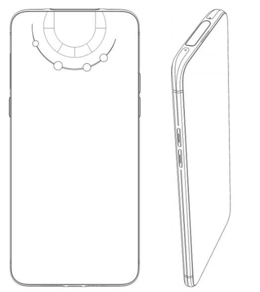 oppo smartphone brevetto modulo fotocamera feat