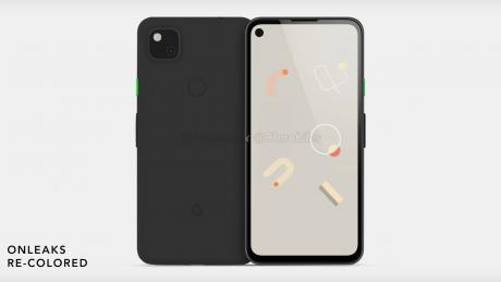 Pixel 4a dave2d black
