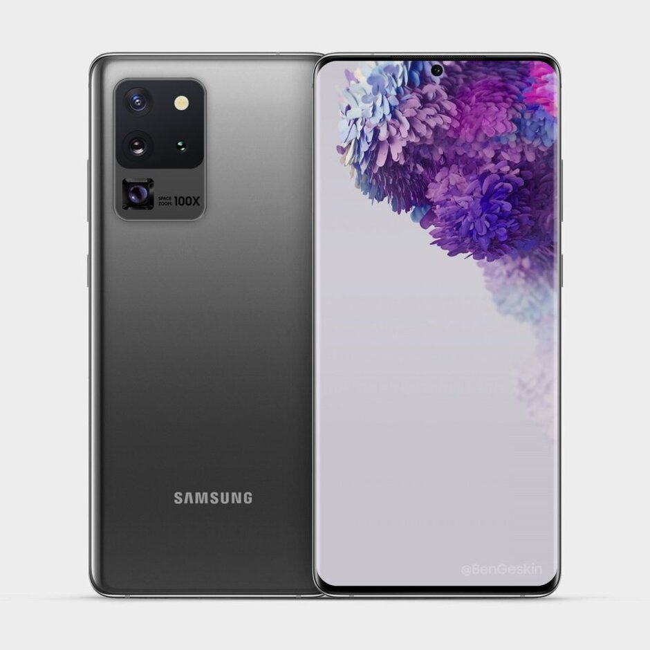 samsung galaxy s20 ultra 5g render