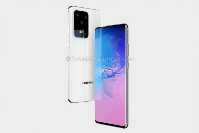 samsung galaxy s20 ultra 5g render