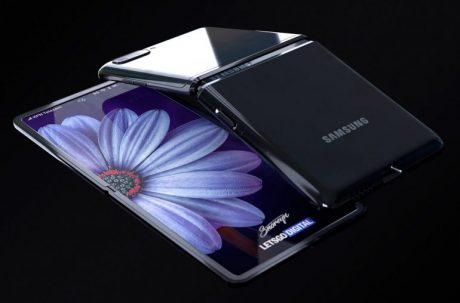 samsung galaxy z flip design specifiche