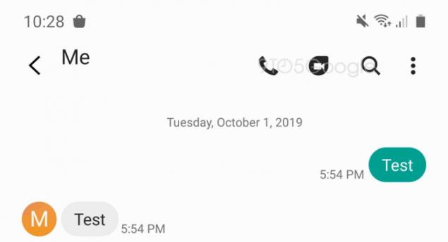 samsung messaggi google duo integrazione