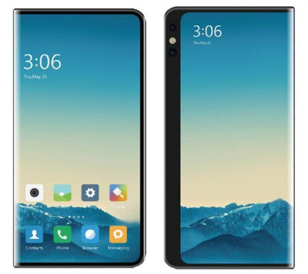 xiaomi smartphone pieghevole brevetto design
