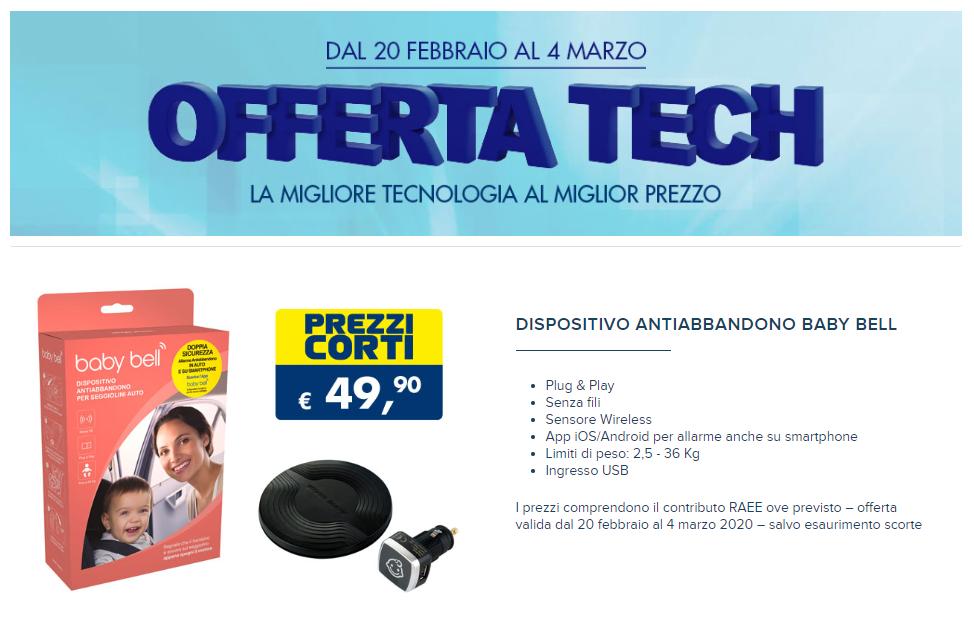 Offerta Tech Esselunga del 20 febbraio 2020