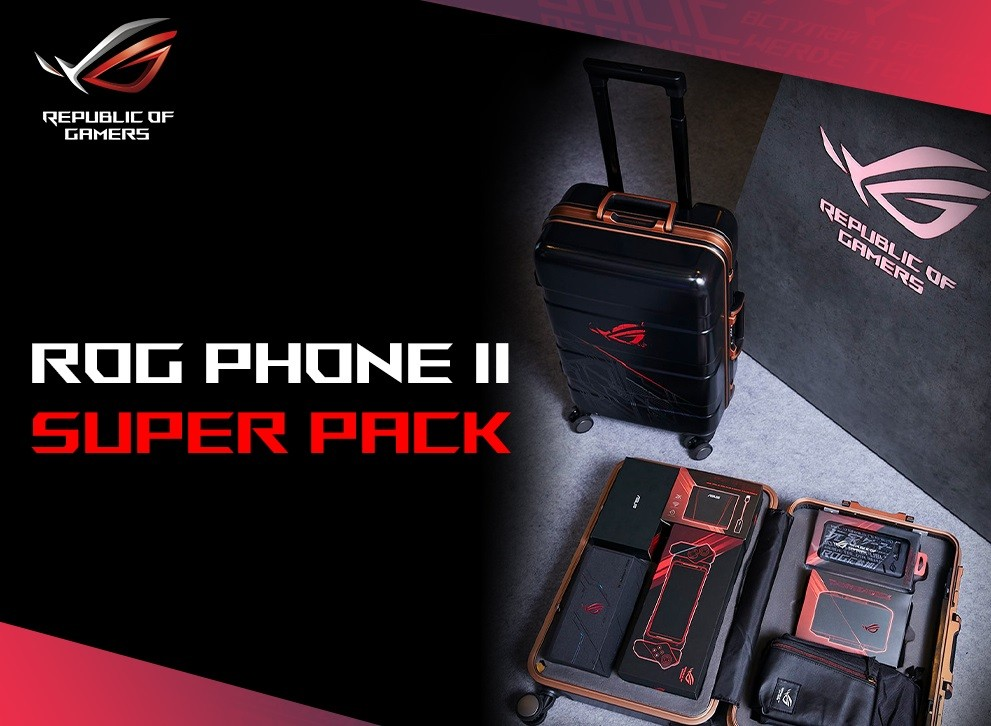 Da ASUS arriva ROG Phone 2 SuperPack con tanti accessori per