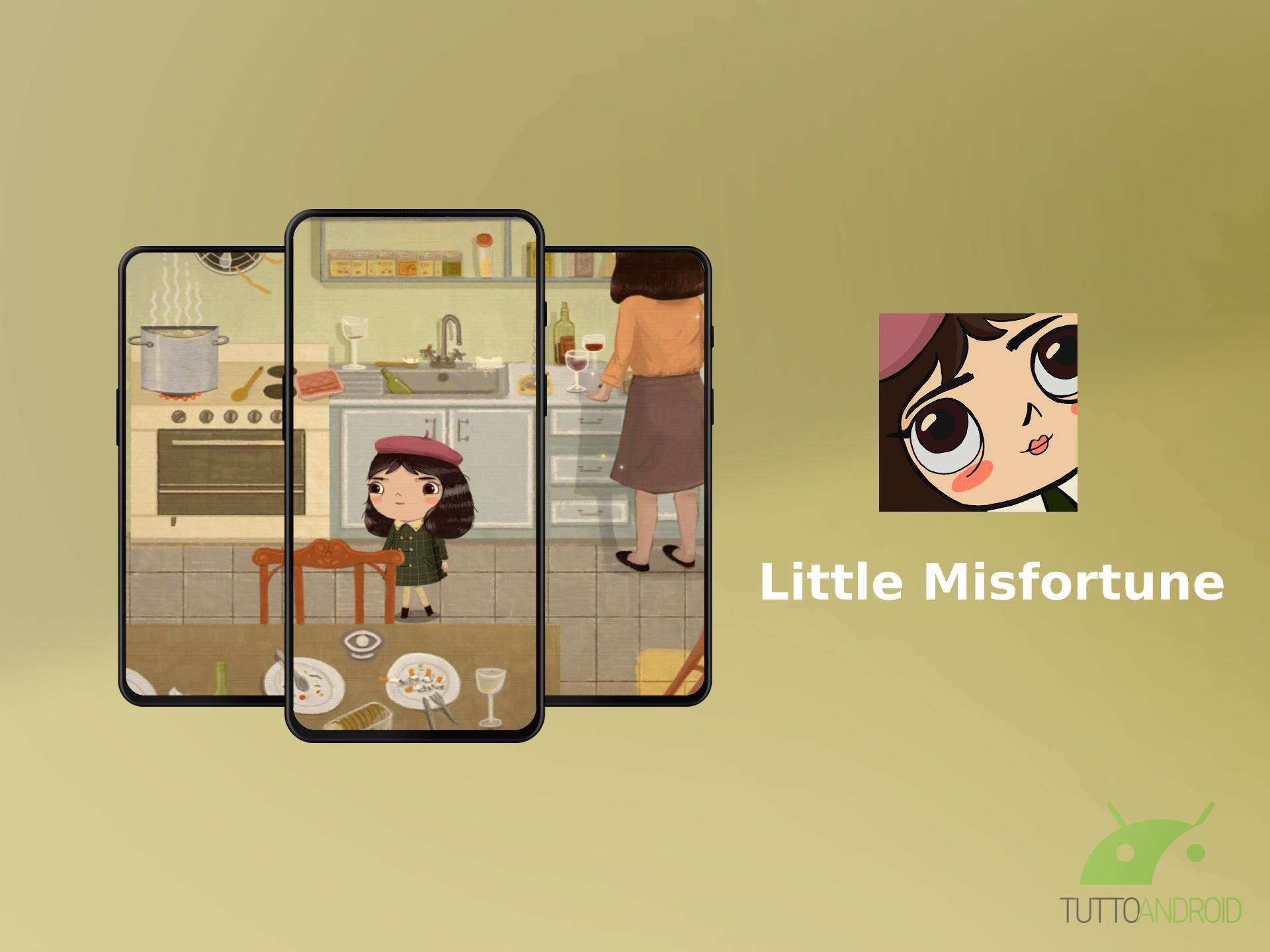 In Little Misfortune non esiste una scelta giusta o sbagliata |  ma solo le conseguenze