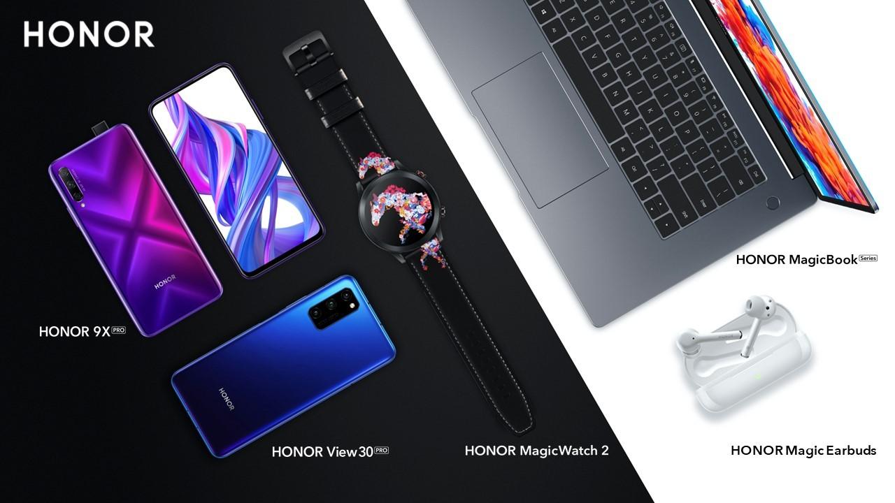 HONOR lancia HONOR 9X Pro, View 30 Pro, MagicWatch 2 e Magic