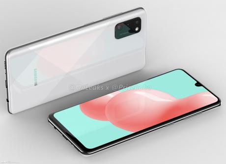 Samsung Galaxy A41 render