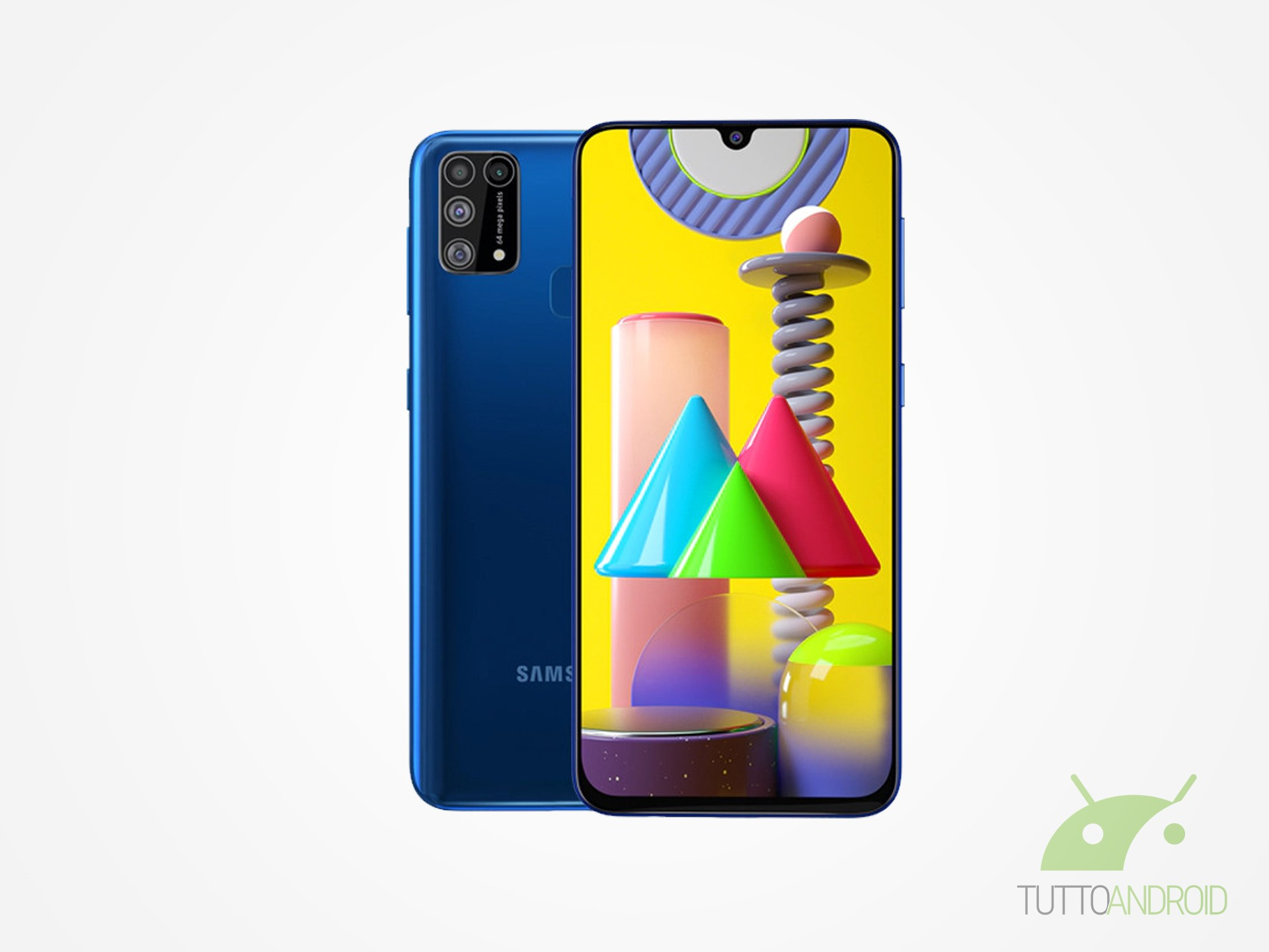 Samsung Galaxy M31 è ufficiale, con specifiche niente male e