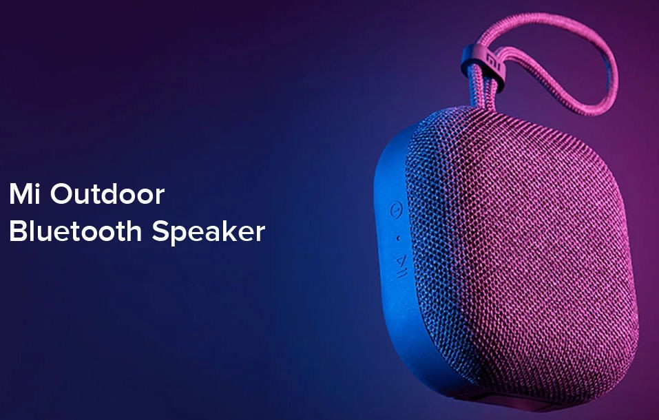 Ecco lo Xiaomi Mi Outdoor Bluetooth Speaker, l'altoparlante