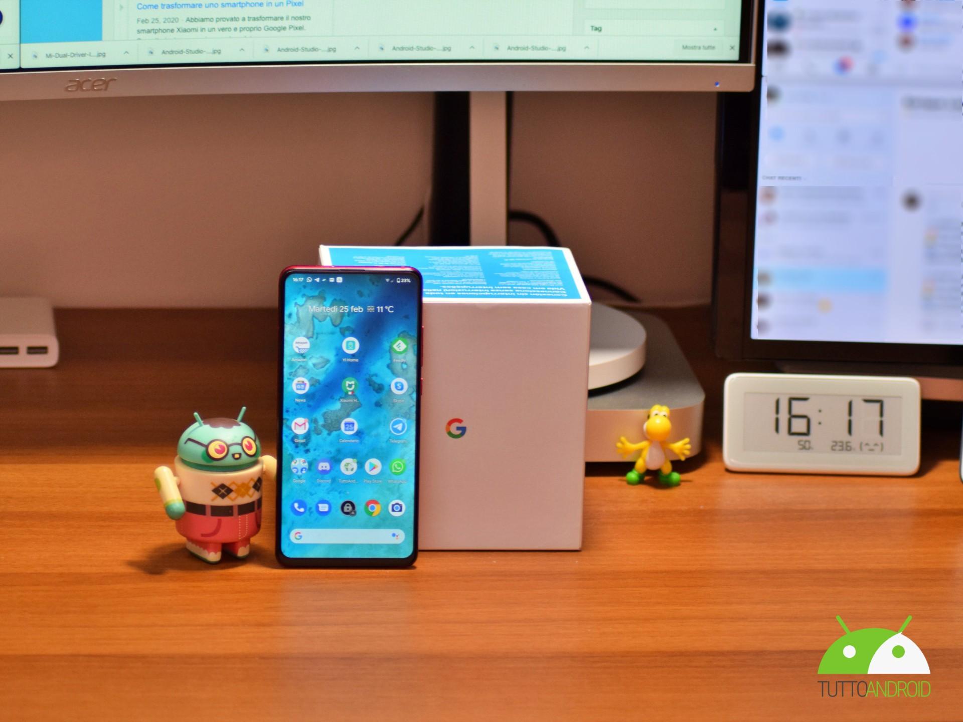 Trasformare uno smartphone in un Pixel: si può e Pixel Exper