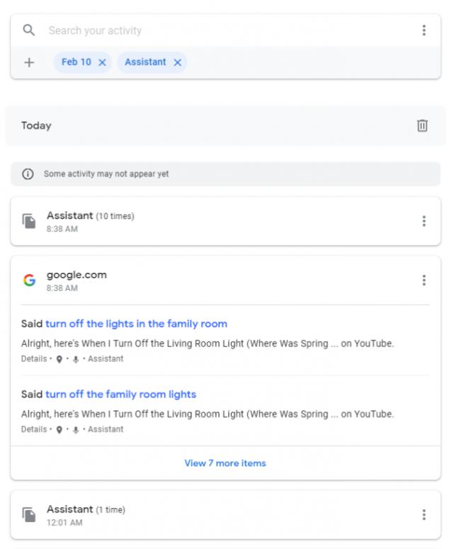 google assistant bug comando vocale video youtube