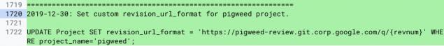 google pigweed sistema operativo marchio