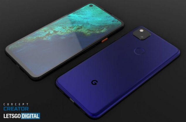 google pixel 4a xl concept immagini video