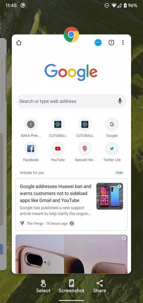 google pixel launcher applicazioni recenti app nascoste android 11