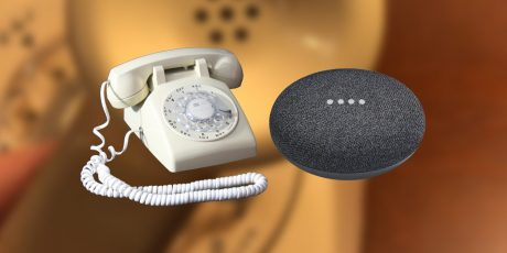 google home mini telefono rotativo