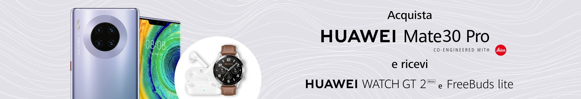 huawei mate 30 pro regalo watch gt 2 freebuds lite