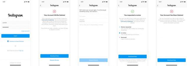 instagram appello in-app cronologia segnalazioni safer internet day 2020
