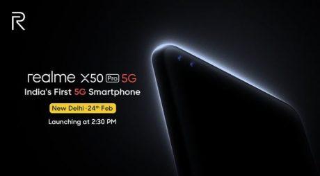 realme x50 pro 5g 24 febbraio fotocamera 64 mp link app